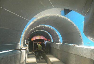 亚克力海底隧道-上海尊海亚克力水族工程