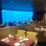 亚克力鱼缸-海洋主题餐厅设计